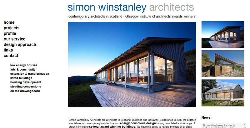 Websites For Architects Designers